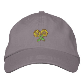 Pequeños girasoles gorra de beisbol