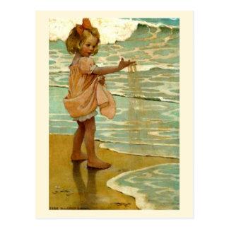 Pequeños granos del ` de la arena' postales