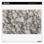 Pequeños guijarros blancos skins para 27,9cm MacBook air