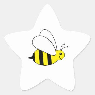Pequeños lindos manosean la granja de la miel de calcomanias forma de estrella
