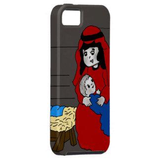 Pequeños Maria y Jesús Funda Para iPhone SE/5/5s