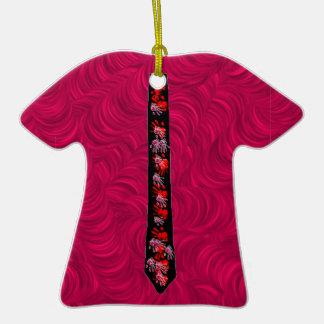 Pequeños ornamentos de moda de la camiseta/del adorno de reyes