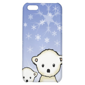 Pequeños osos polares lindos