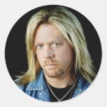 Pequeños pegatinas de Cody McCarver Etiquetas Redondas