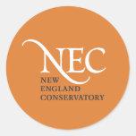 Pequeños pegatinas del NEC