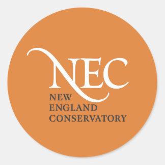 Pequeños pegatinas del NEC Etiquetas Redondas