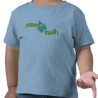 Pequeños pescados camisetas