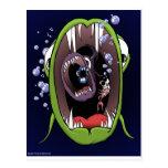 Pequeños pescados Shrimp.jpg de los pescados medio Postales