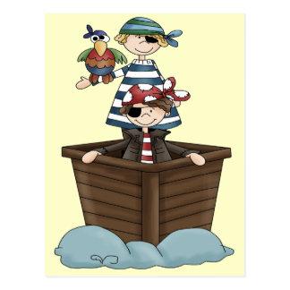 Pequeños piratas postales