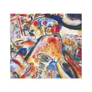 Pequeños placeres de Kandinsky Lona Envuelta Para Galerias