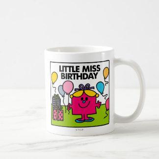 Pequeños presentes y globos de Srta. Birthday el | Taza Clásica