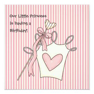 """Pequeños príncipes Birthday Invitation Invitación 5.25"""" X 5.25"""""""