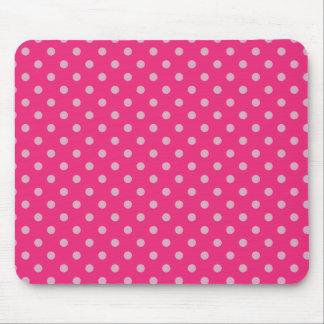 Pequeños puntos púrpuras mouse pad
