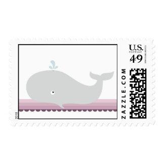 Pequeños sellos de la ballena {baya} el |