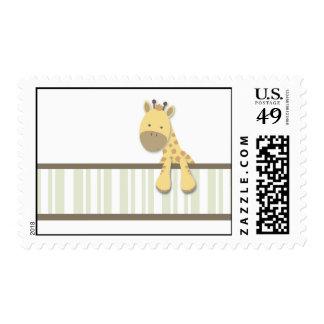 Pequeños sellos de la jirafa {verde} el |