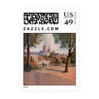 Pequeños sellos de Suiza (1)