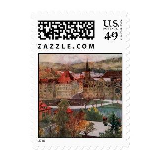 Pequeños sellos de Suiza (3)