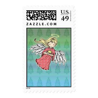Pequeños sellos del día de fiesta del ángel del na