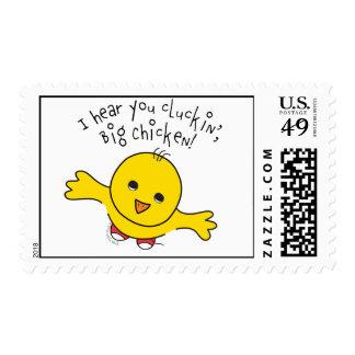 Pequeños sellos del pollo