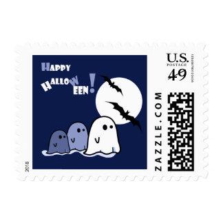 Pequeños sellos divertidos de Halloween de los