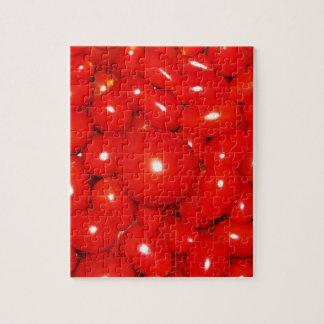 Pequeños tomates puzzles con fotos