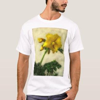 Pequeños Wildflowers amarillos 1 discretos Playera