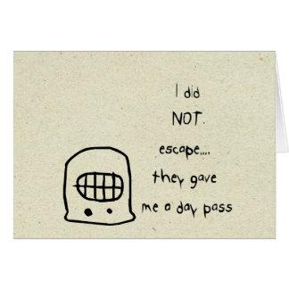 pequeños wobblies tarjeta pequeña
