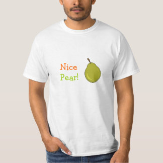 ¡Pera agradable! Diseño con sabor a fruta Polera