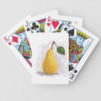 pera baraja de cartas