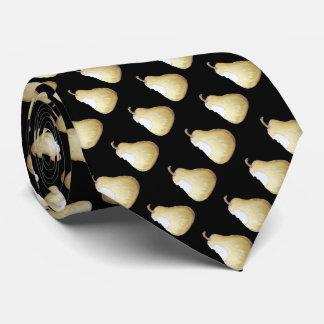 pera con la mordedura fuera de ella diseño del corbatas