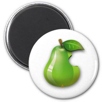 Pera de Apple Imanes Para Frigoríficos