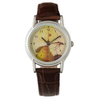 Pera de cobre relojes de mano