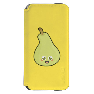Pera de Kawaii Funda Billetera Para iPhone 6 Watson