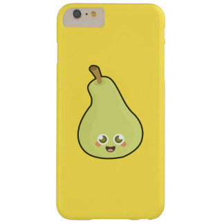 Pera de Kawaii Funda De iPhone 6 Plus Barely There