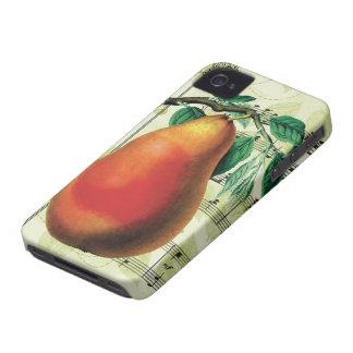 Pera elegante iPhone 4 Case-Mate protectores