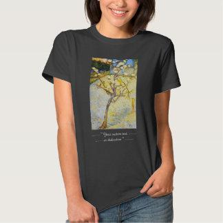 Peral en bella arte de Vincent van Gogh del flor Camisas