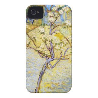 Peral en bella arte de Vincent van Gogh del flor Case-Mate iPhone 4 Cobertura
