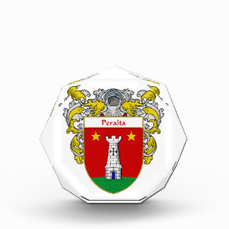 Peralta Coat of Arms Family Crest Award