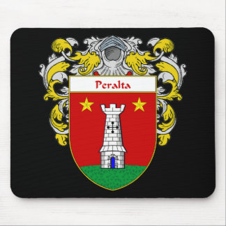 Peralta Coat of Arms/Family Crest Mouse Pad