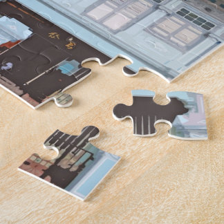 Peranakan Shophouses Jigsaw Puzzle