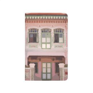 Peranakan Shophouses Notebook Journal
