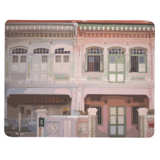 Peranakan Shophouses Notebook Journals