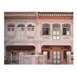 Peranakan Shophouses Postcard