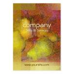 Peras abstractas tarjetas de negocios