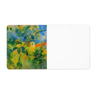 Peras de Berthe Morisot Etiquetas De Envío