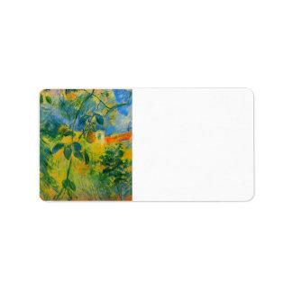 Peras de Berthe Morisot Etiquetas De Dirección