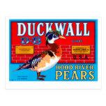 Peras de Duckwall Hood River Postales