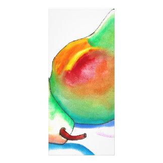 Peras de la acuarela (arte de K.Turnbull) Lona Personalizada
