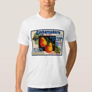Peras de lujo de Embarcadero Santa Clara Camisas