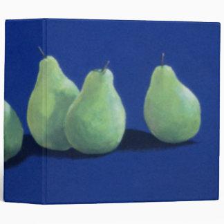 """Peras en un paño azul carpeta 2"""""""
